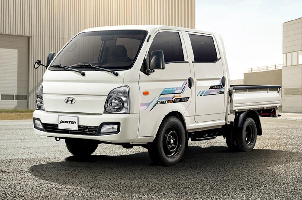 全新HYUNDAI PORTER雙廂提供六人座舒適乘坐空間