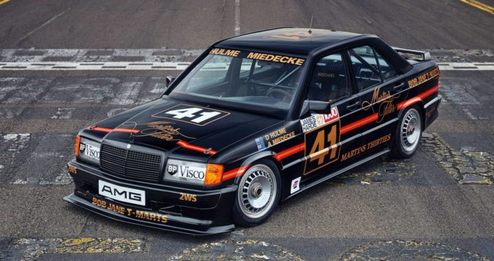 The Legends is Back! Mercedes-Benz 190E 2.3-16 Group A再現昔日榮耀